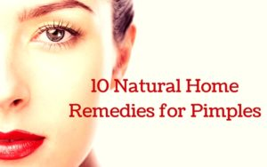 10 Natural Home Remedies for Pimple Marks