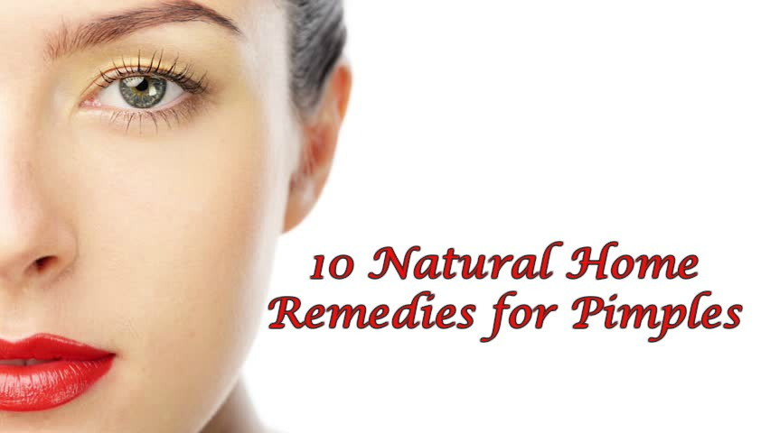 10 Natural Home Remedies for Pimples