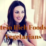 high protein vegetarian foods