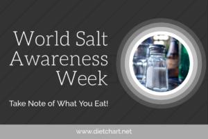 World Salt Awareness Week: Take Note of What You Eat!